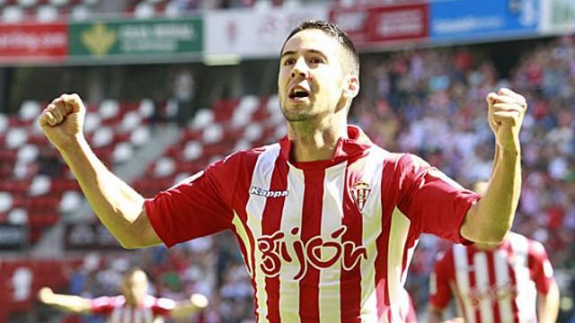 Hugo Fraile abrió la goleada del Sporting al Mallorca