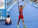 Javi Gómez Noya campeón del mundo de triatlón, Mario Mola tercero