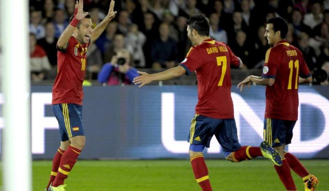 Copa Confederaciones 2013: España golea 3-0 a Nigeria y sigue invicta