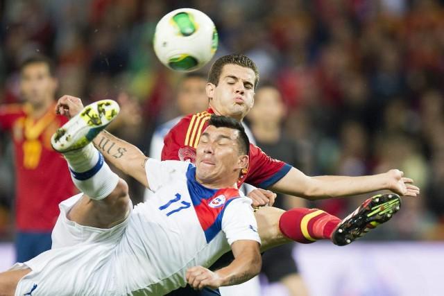 Nacho Fernández debutó con la selección española
