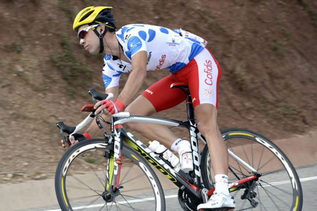 Nicolas Edet se llevó el Gp de la montaña de la Vuelta 2013