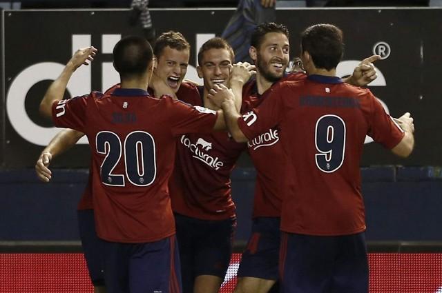 El Osasuna ganó por fin su primer partido de la temporada