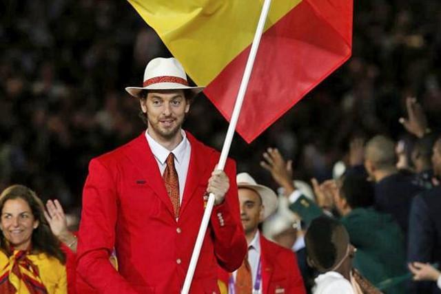 Pau Gasol en los Juegos Olímpicos de Londres 2012