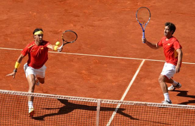 Rafa-Nadal-Marc-Lopez-Copa-Davis