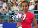 WTA Guanzhou 2013: Zhang campeona; WTA Seúl 2013: Radwanska campeona