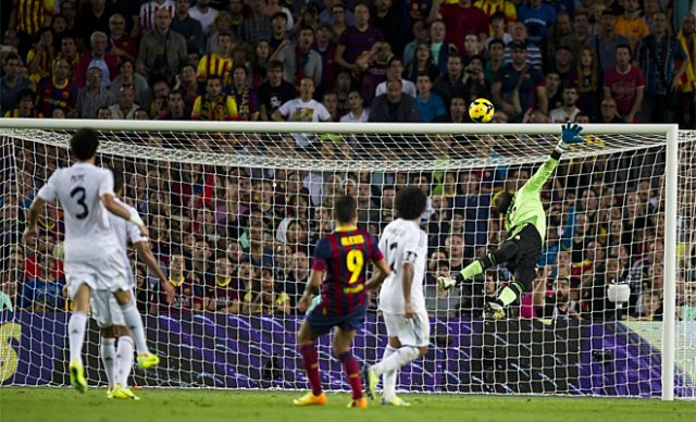 El golazo de Alexis Sánchez al Real Madrid