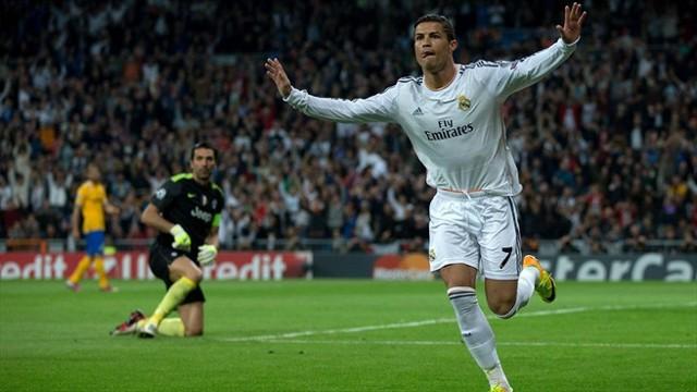 Dos goles de Cristiano lo mantienen como pichichi de la Champions