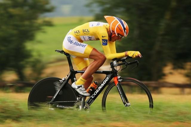 Rasmussen durante el Tour de Francia de 2007