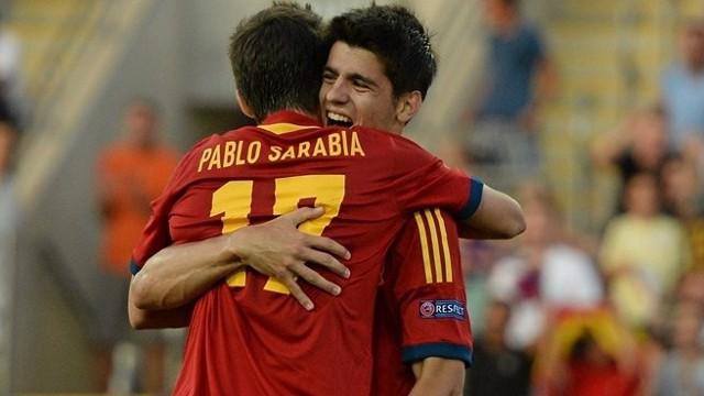 Morata es el máximo goleador de la selección sub 21
