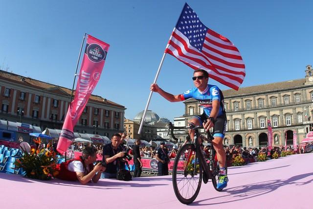 Vande Velde en su último Giro de Italia