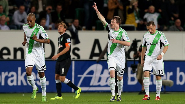 El Wolfsburgo consiguió una de las goleadas de la jornada