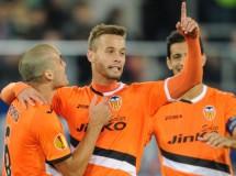 Europa League 2013-2014: el Valencia supera la fase de grupos