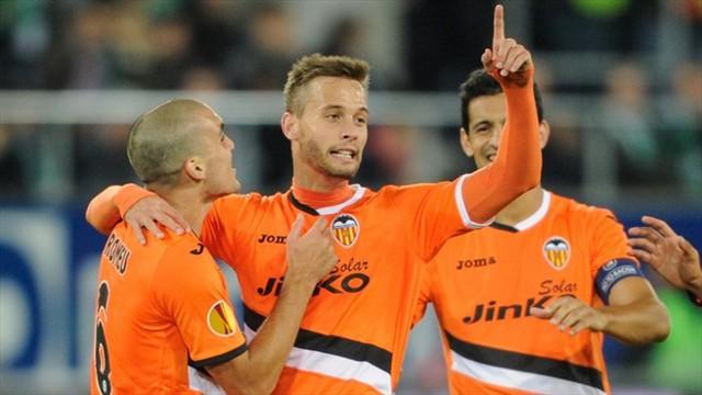 Canales lideró la remontada del Valencia en Suiza
