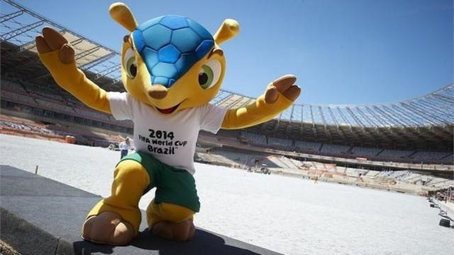 Fuleco es la mascota del Mundial de Brasil 2014