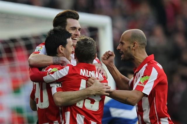 El Athletic protagonizó la goleada de la jornada