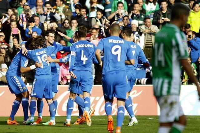 El Real Madrid humilló al Betis en el Villamarín