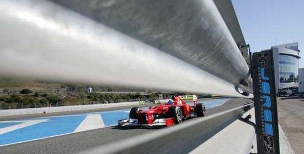 Arranca la pretemporada de Fórmula 1 en el Circuito de Jerez