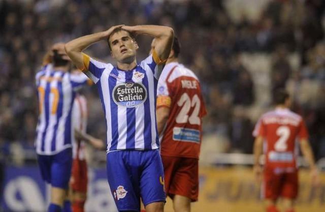 El Deportivo es campeón de invierno pese a no ganar al Girona