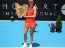 Garbiñe Muguruza logra su primer título WTA en el Torneo de Hobart