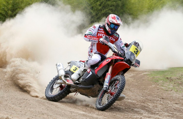 Dakar 2014 Etapa 2: Sunderland gana en motos por delante de 'Chaleco' López y Barreda
