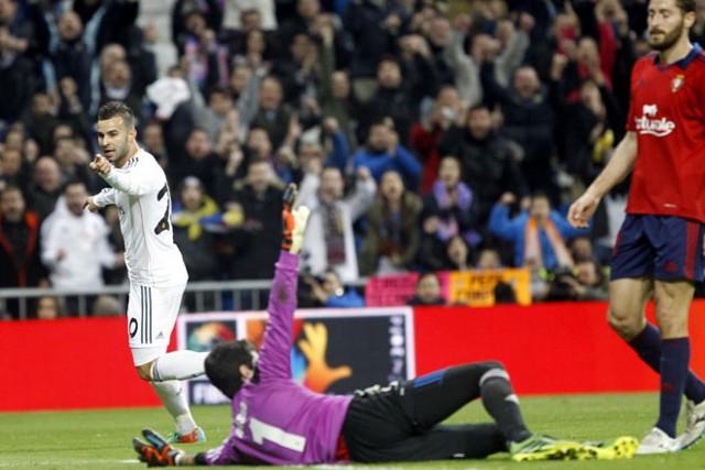 Jesé marcó el segundo gol ante Osasuna