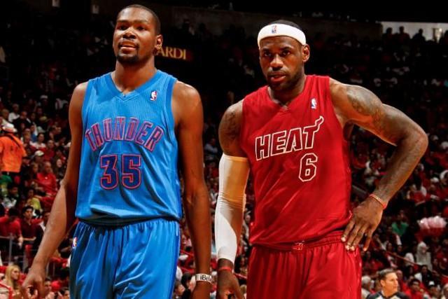 Lebron James y Kevin Durant, los mejores de la NBA en diciembre