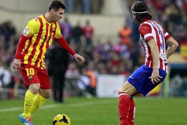 Atlético y Barcelona empataron sin goles