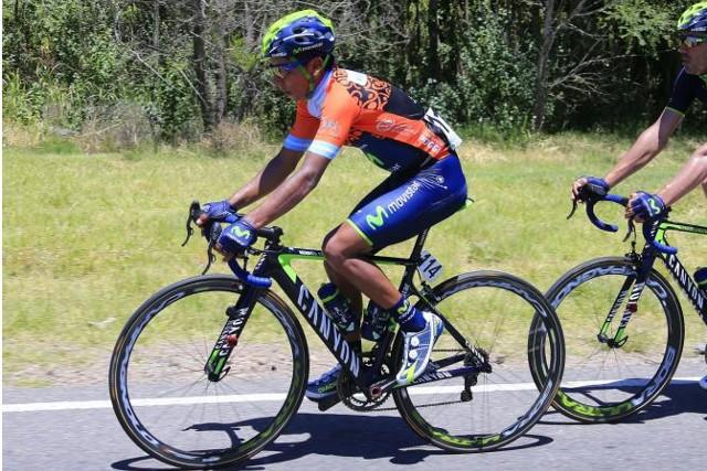 Nairo Quintana logró su primera victoria de 2014 en San Luis