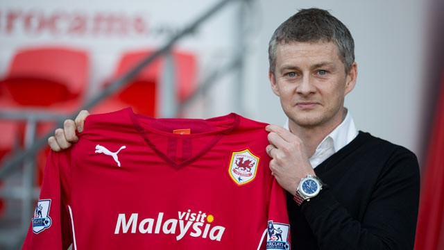 Solskjaer es ahora entrenador del Cardiff