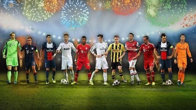 El Once Ideal de 2013 según los usuarios de UEFA.com