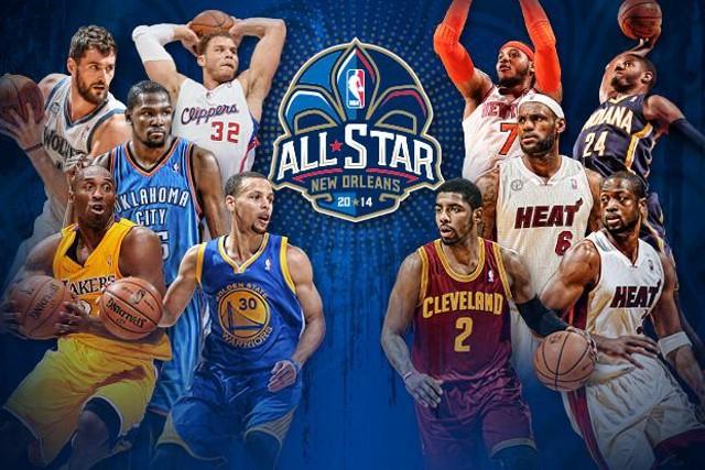 Los quintetos titulares del All Star 2014