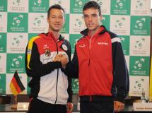 Copa Davis 2014: orden de juego y horarios de la eliminatoria Alemania-España