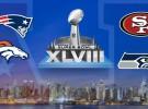 NFL 2013-2014: horarios y retransmisiones de las finales de conferencia Broncos-Patriots y Seahawks-49ers