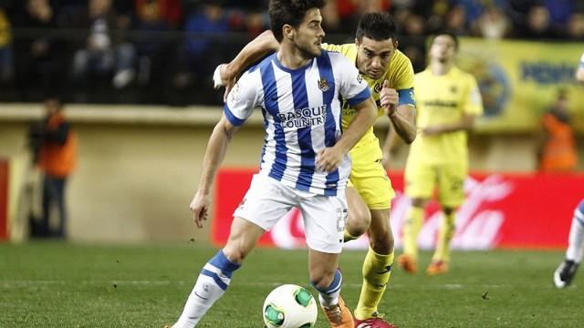 La Real Sociedad eliminó al Villarreal
