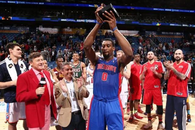 Drummond fue el MVP del Rising Stars