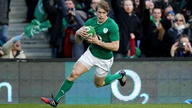 Un ensayo de Timbler puso en camino de la victoria a Irlanda