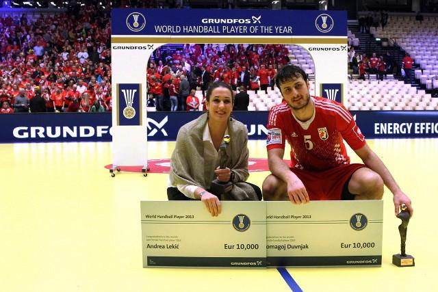 Duvnjak y Lekic, los mejores de 2013 en balonmano
