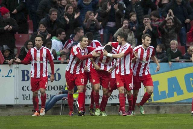 El Girona rompió una racha de 12 jornadas sin ganar
