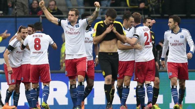 El Hamburgo goleó al Borussia Dortmund