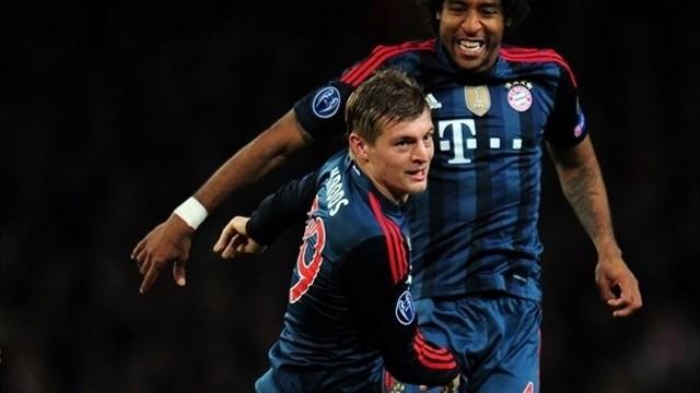 Kroos guió al Bayern hacia la victoria