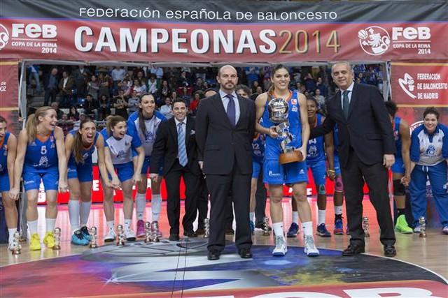 El Perfumerías Avenida de Salamanca ganó la Copa de la Reina 2014