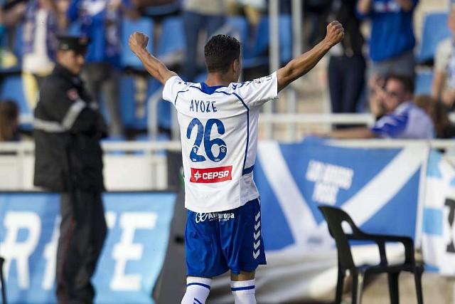 Los goles de Ayoze meten al Tenerife en playoffs