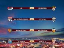 Europa League 2013-2014: Basilea-Valencia y Oporto-Sevilla en cuartos