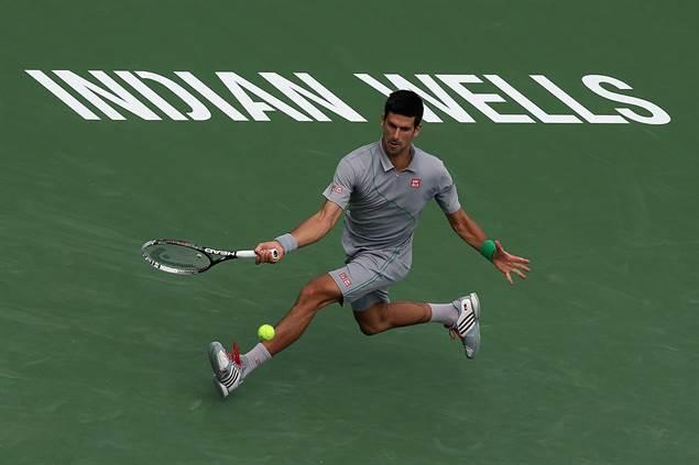 Djokovic derrota a Benneteau en Indian Wells