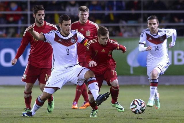 España sub 21 venció a Alemania en partido amistoso