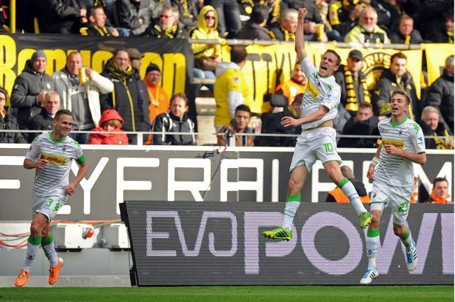 El Gladbach ganó en Dortmund