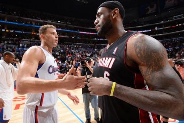 James y Griffin, los mejores jugadores de la NBA en febrero de 2014