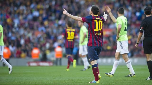 Messi es el máximo goleador de la historia del Barcelona