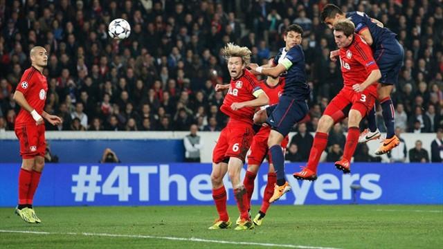 El PSG ganó al Bayer en Champions
