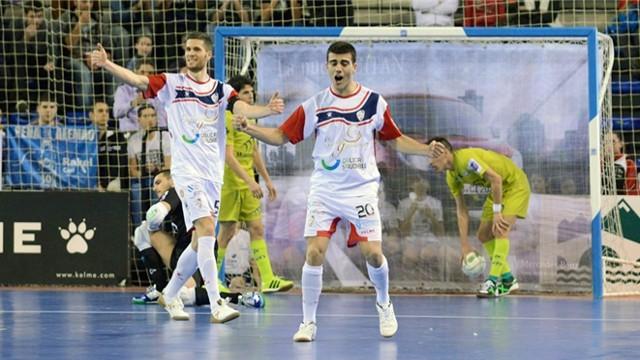Santiago Futsal estará en las semifinales de la Copa de España